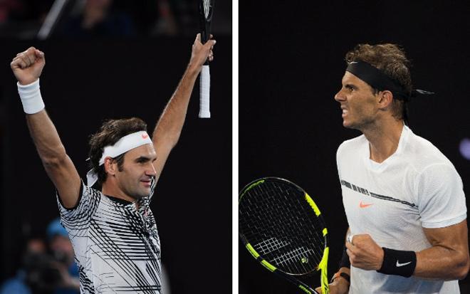 Bảng xếp hạng tennis tháng 9/2017: Nadal – Federer so kè
