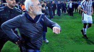 chủ tịch câu lạc bộ rút súng đe dọa trọng tài