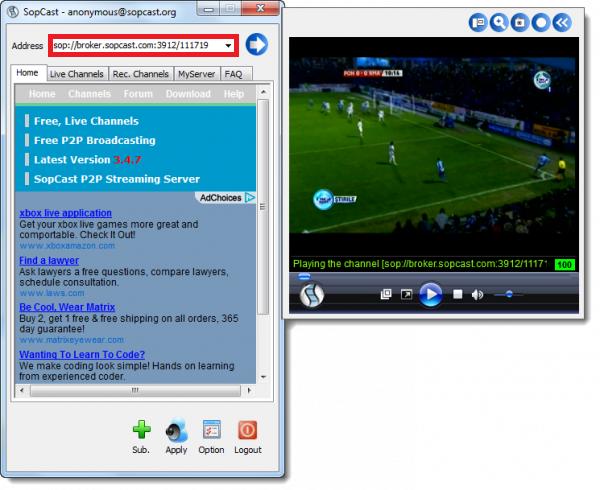 Link Sopcast