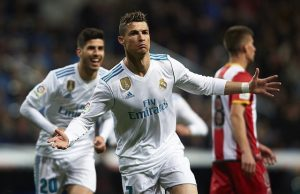 C.Ronaldo lập kỷ lục ghi hat-trick ở châu Âu