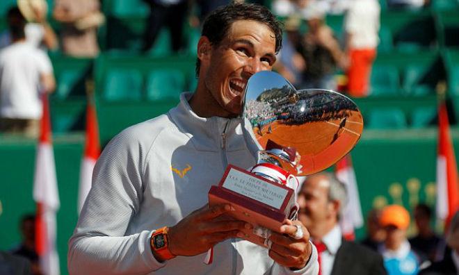 Nadal một lần nữa dành ngai vàng