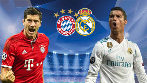 Link sopcast Bayern Munich vs Real Madrid