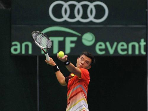 Tại giải tennis Davis Cup đội Việt Nam toàn thắng