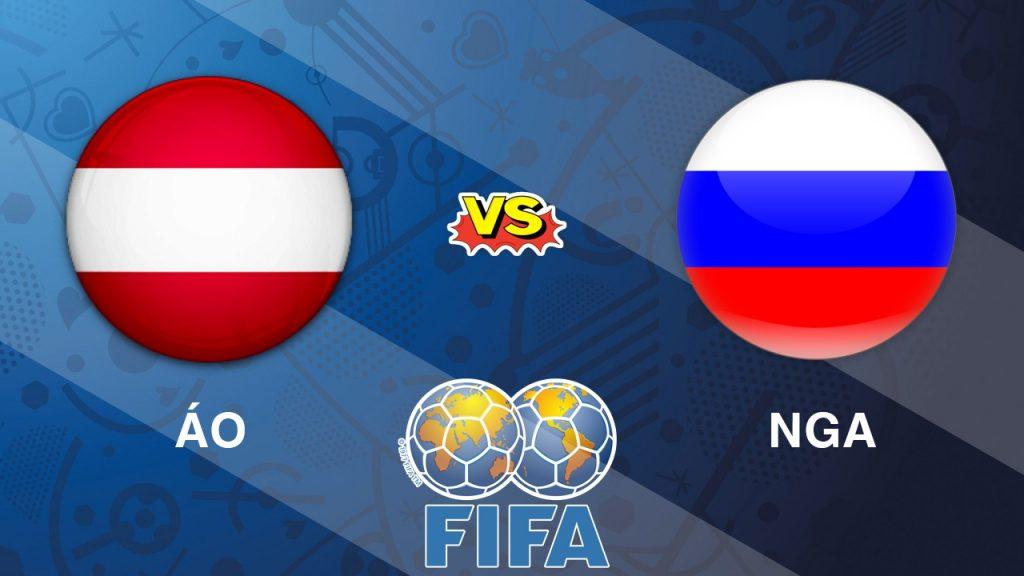 Áo vs Nga, 01h45 ngày 31/5