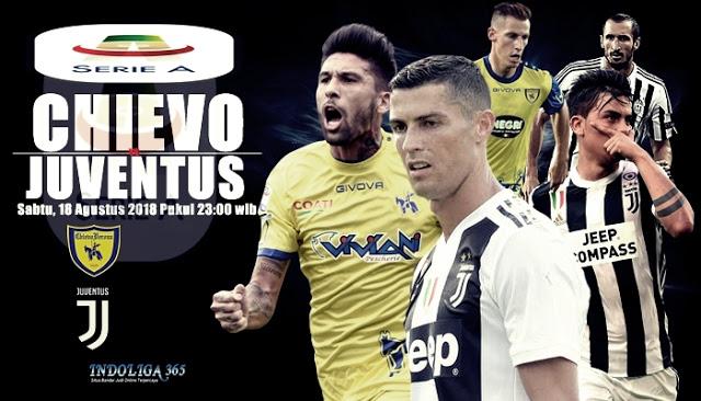 Link sopcast Chievo vs Juventus, 23h00 ngày 18/8