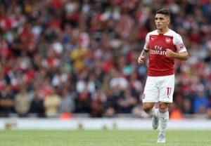 Torreira trong màu áo Arsenal