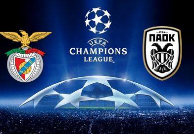 Link sopcast Benfica  vs PAOK, 02h00 ngày 22/8
