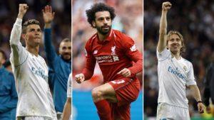 3 cầu thủ xuất sắc nhất Châu Âu