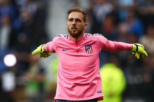 Jan Oblak trong màu áo Atlético Madrid