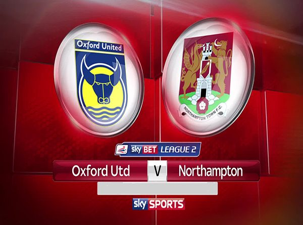 Oxford Utd vs Northampton (01h45 ngày 10/10: Cúp League Trophy)