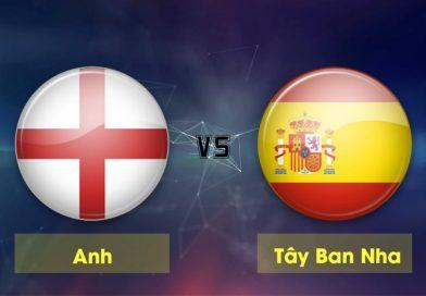 Link sopcast Tây Ban Nha vs Anh, 01h45 ngày 16/10