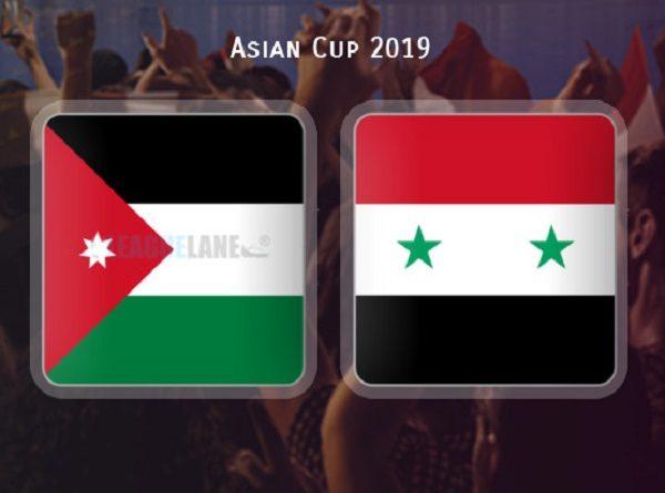 Nhận định Jordan vs Syria
