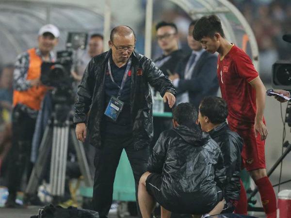 HLV Park Hang Seo lại làm cho người hâm mộ phải ngả mũ thán phục