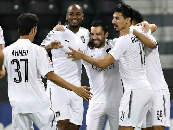Xavi tỏa sáng ở giải đấu Champions League châu Á