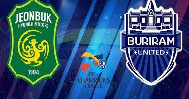 Soi kèo Jeonbuk Motors vs Buriram United, 17h00 ngày 21/05