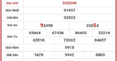Bảng thống kê soi cầu lô bạch thủ tỉnh Đồng Nai ngày 17/07