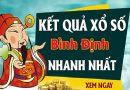 Soi cầu XS Bình Định chính xác thứ 5 ngày 18/07/2019