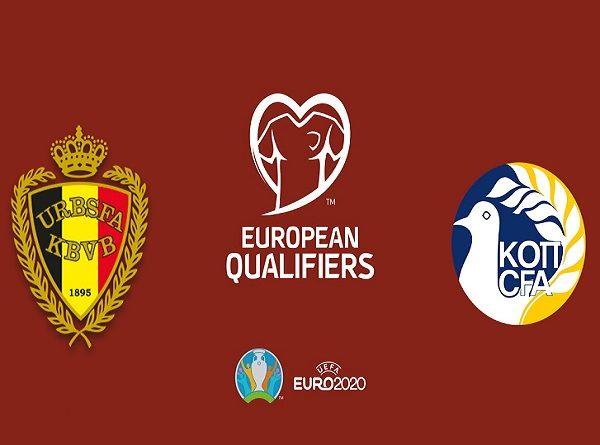 Nhận định kèo Bỉ vs Síp 2h45, 20/11 (Vòng loại Euro 2020)