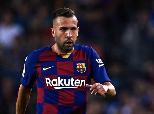 Hậu vệ cánh trái Jordi Alba