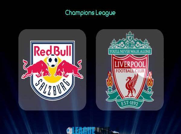 RB Salzburg vs Liverpool, 00h55 ngày 11/12/2019