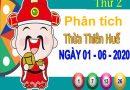 Phân tích XSTTH ngày 1/6/2020 – Phân tích xổ số Thừa Thiên Huế thứ 2