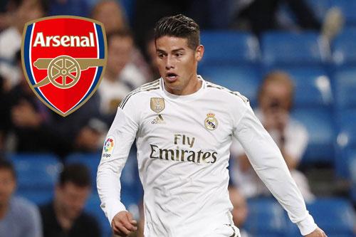 """Chuyển nhượng 17/8: Arsenal """"rộng cửa"""" mua James Rodriguez"""