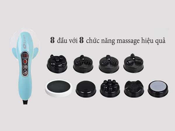 8 đầu massage cho hiệu quả giảm đau nhức tối đa