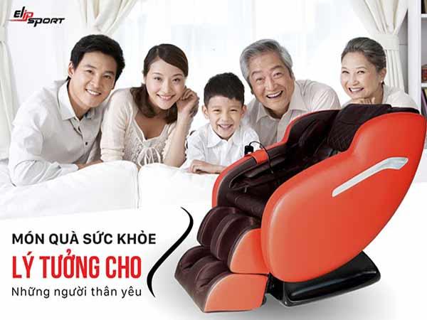 Ghế massage món quà sức khỏe dành tặng đấng sinh thành