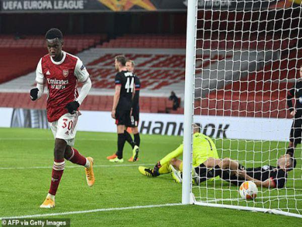 Bóng đá QT chiều 30/10: Arsenal 3-0 Dundalk Dứt điểm nhanh gọn