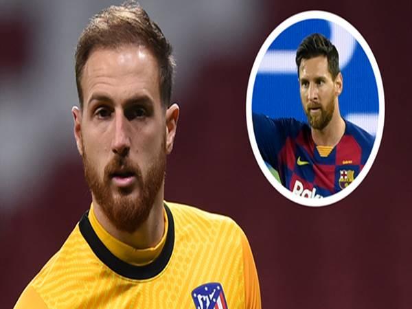 Bóng đá chiều 25/12: Messi ca ngợi Jan Oblak
