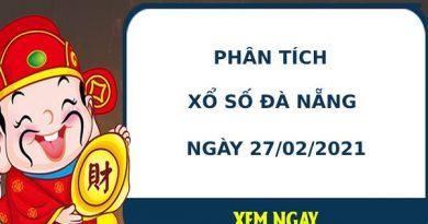 Phân tích kết quả XS Đà Nẵng ngày 27/02/2021