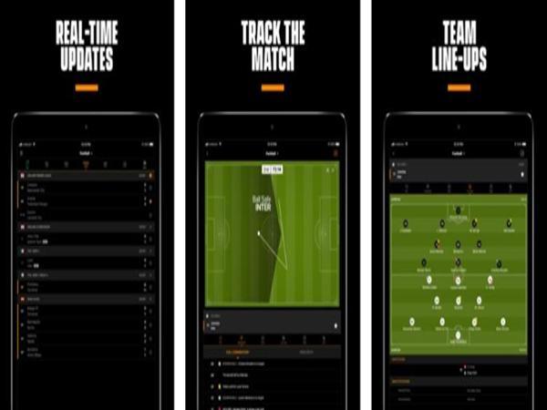 Xem bóng đá với ứng dụng LiveScore Football 2019 ngay trên điện thoại