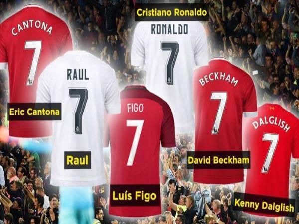 Ý nghĩa số áo trong bóng đá với các vị trí trên sân