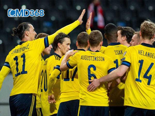 Thụy Điển đứng thứ nhì bảng tại vòng loại Euro 2020
