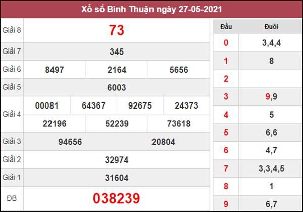 Nhận định KQXS Bình Thuận 3/6/2021 tỷ lệ trúng cao