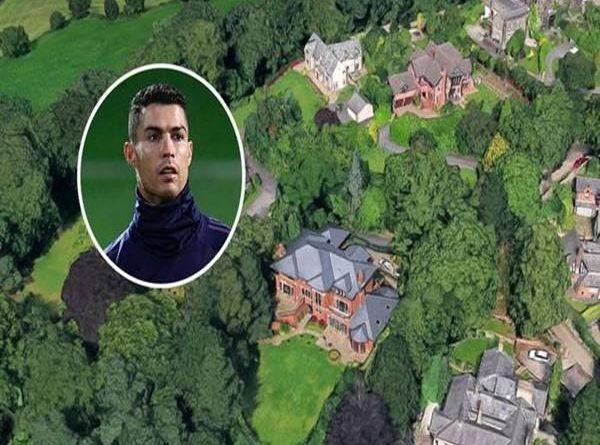 Nhà của Ronaldo -Những ngôi biệt thự sang chảnh, xa hoa