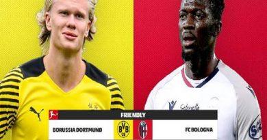 Nhận định kèo Dortmund vs Bologna, 22h00 ngày 30/7 Giao hữu