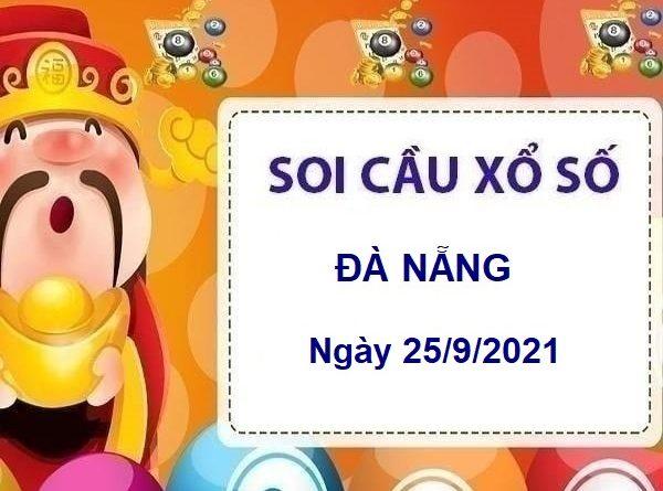 Soi cầu XSDNG ngày 25/9/2021